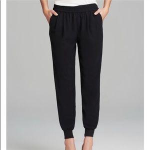 JOIE Mariner Jogger S Pants Trousers Crepe Caviar